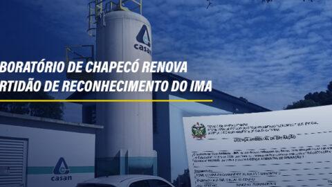 Aesbe parabeniza Casan pela renovação da Certidão de Reconhecimento do IMA