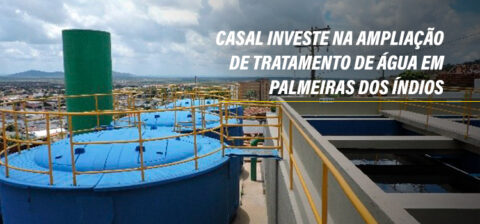 Casal investe na ampliação de tratamento de água em Palmeiras dos índios