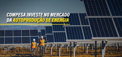 Compesa investe no mercado da autoprodução de energia