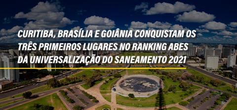 Associadas conquistam os três primeiros lugares no Ranking ABES da Universalização do Saneamento 2021