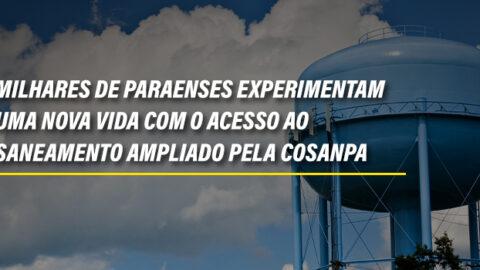 Beneficiando milhares de paraenses, Cosanpa investe em melhorias na rede de saneamento e distribuição de água