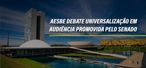 Aesbe debate universalização do saneamento em audiência promovida pelo Senado