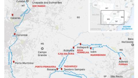 Seca histórica faz 53 cidades do Sudeste, Sul e Centro-Oeste racionarem água